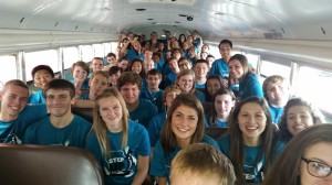 The Ft. Zumwalt South FBLA chapter heading to the District 8 Fall Leadership Conference.